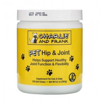 Charlie & Frank 寵物關節健康保護軟糖 9.3 oz (264g) 120粒